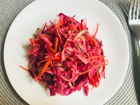 salate raw vegane)