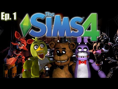 The Sims 4 - Five Nights At Freddy's Theme - Ep. 1 (Create A Sim)