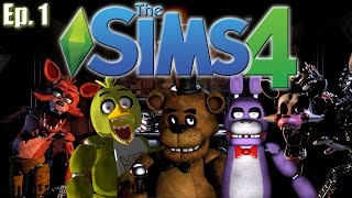 The Sims 4 - Five Nights at Freddy's Theme - Ep. 1 (Create A Sim)(First time playing The Sims 4 & decided to try a Five Night's at Freddy's (FNAF) Theme! Here, I create Freddy, Chica, Bonnie, Foxy, & Mangle in Sim form!, 2015-03-03T20:00:00.000Z)