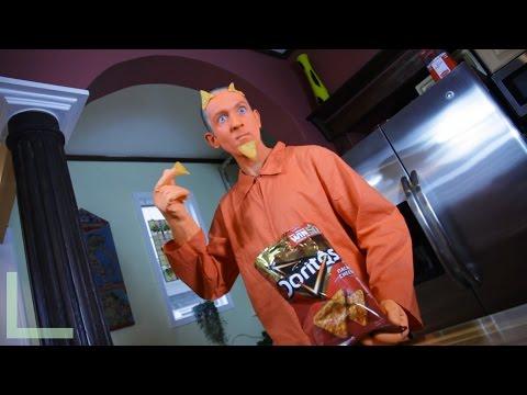 Doritos Commercial- Dorito Man visits suburbia