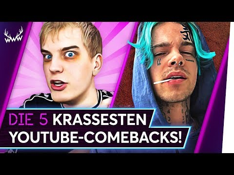 Die 5 KRASSESTEN YouTube-Comebacks! | TOP 5