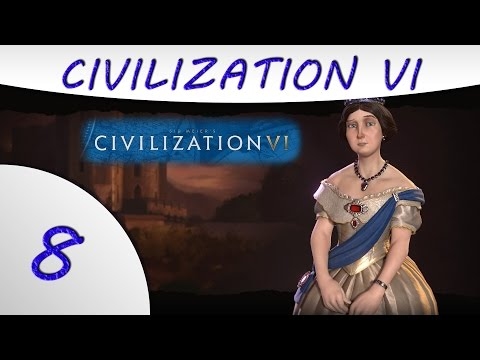 Civilization 6 Gameplay -Part 8- England - Victoria - Culture Victory