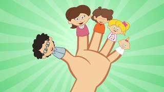 Fingers Family -comptine anglaise populaire - apprendre l'anglais en chantant avec les P'tits z'amis