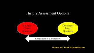 Beyond the Bubble: A New Generation of Historical Thinking Assessments