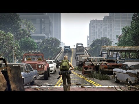 GTA 5 Mods -  Zombie Apocalypse Mod Multiplayer DLC: Ep1