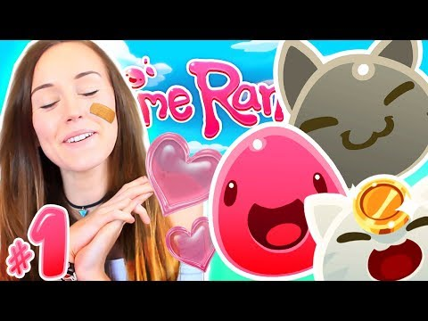 ✨NEW✨ IS THIS THE CUTEST GAME EVER?!?! (Slime Rancher #1!🐣)
