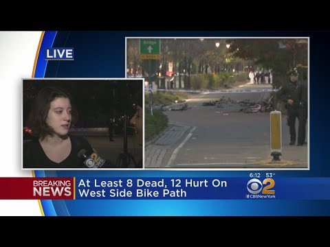 CBS2's Hazel Sanchez Speaks With Stuyvesant Student After Terror Attack