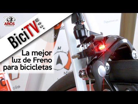 816e9db55 Luz de freno para bicicleta Ilumenox Nano - YouTube