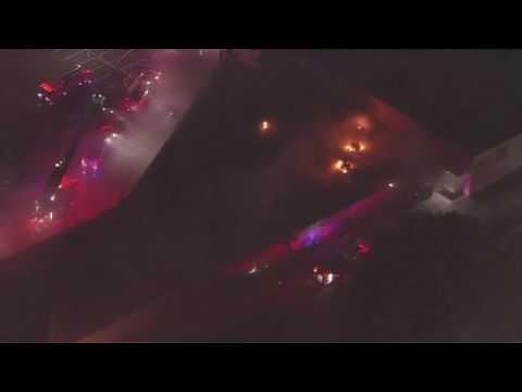 SAFD firefighter killed, two hurt in massive shopping center blaze