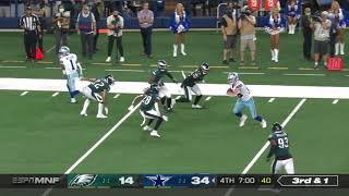 Eagles tackling is on point 🔥🔥