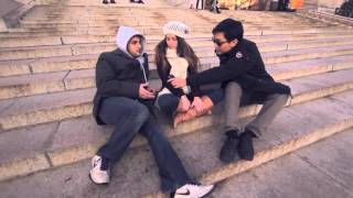 Columbia University Students Talk Bernie Sanders