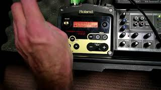 Roland TM-2 trigger Settings