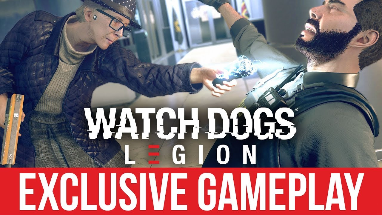 WATCH DOGS LEGION Exklusives Gameplay & Details + video