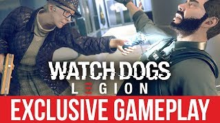 WATCH DOGS LEGION Exclusive Gameplay & Details