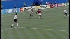 Bulgaria v Germany World Cup USA 94 ITV