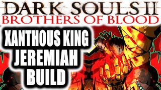 Dark Souls 2 Pvp: Brothers Of Blood: Xanthous King Jeremiah Build