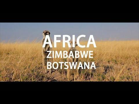 Travel Vlog: Meet Africa Zimbabwe  Botswana_Vlog Africa