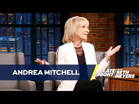 NBC News' Andrea Mitchell on Trump's Ban on Transgender Troops and Health Care