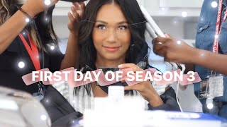 VLOG: FIRST DAY OF ALL AMERICAN SEASON 3 🏈🎉 | Greta Onieogou