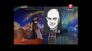 Украина мае талант 4 Денис Дитинюк (художник)(, 2012-04-07T19:03:19.000Z)