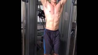 ABS workout(腹肌/側腹肌訓練)