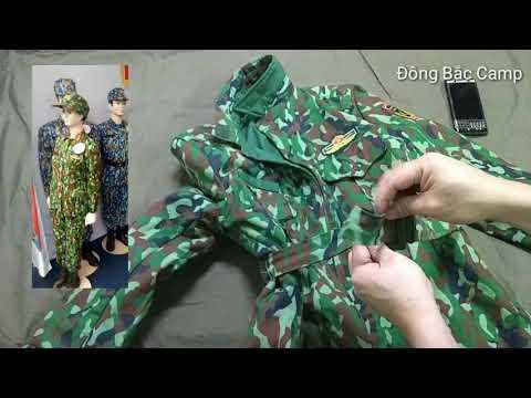 Trên Tay áo Khoác Rằn Ri Dã Chiến K-17 Mới Nhất Của Quân đội Việt Nam