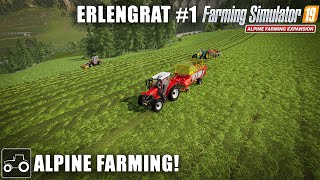 Alpine Farming - Erlengrat #1 Farming Simulator 19 Alpine Expansion Timelapse