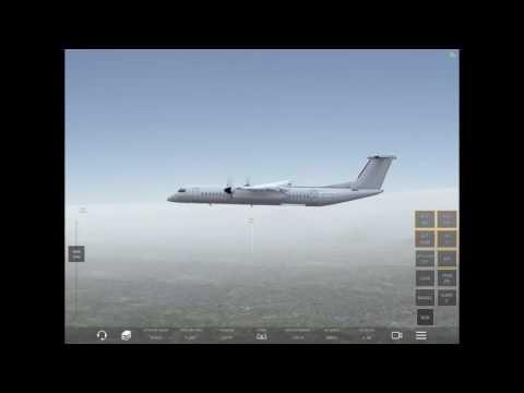 Infinite Flight #28 Dash 8 Palm Springs to Jack Northrop Field