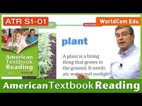 Learn English   American Textbook Reading   Science Grade 1    Lesson 1   Brian Stuart (미국교과서)