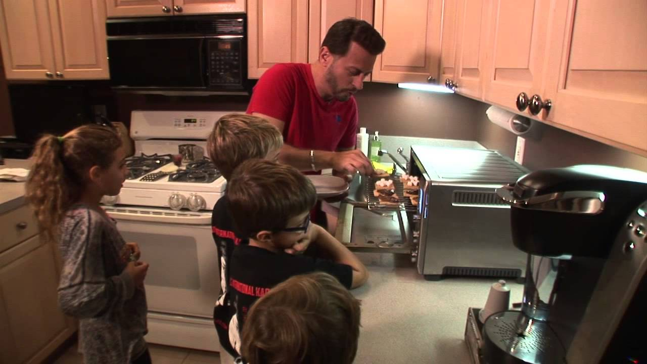 How To Make S'mores In A Toaster Oven: Big Meals, Small Places With Sal  Governale