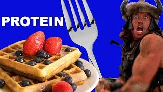 Best eveR SUper meGA Protein Waffle recipe