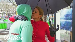 An emotional Kathy and JJ visits the site of the 2015 Paris terror attack: Total Bellas July 15 2018
