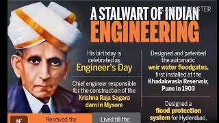HAPPY ENGINEER'S DAY STATUS    sir M. Visvesvaraya birthday   
