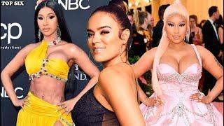 Karol G Desafia A Cardi B Al Hacer Colaboración Con Nicki Minaj