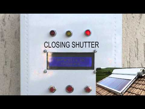 Automatic roll-up shutter