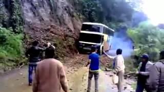 Автобус упал в пропасть. Дорога смерти в Боливии
