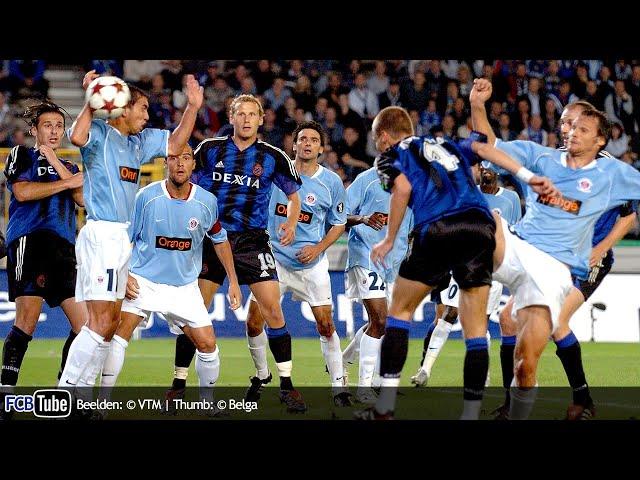 2004-2005 - UEFA-Cup - 01. 1ste Ronde - Club Brugge - LB Châteauroux 4-0