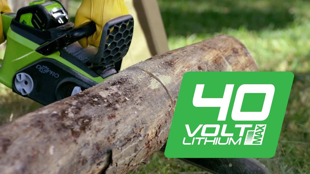 Аккумуляторная техника Greenworks серии 40V