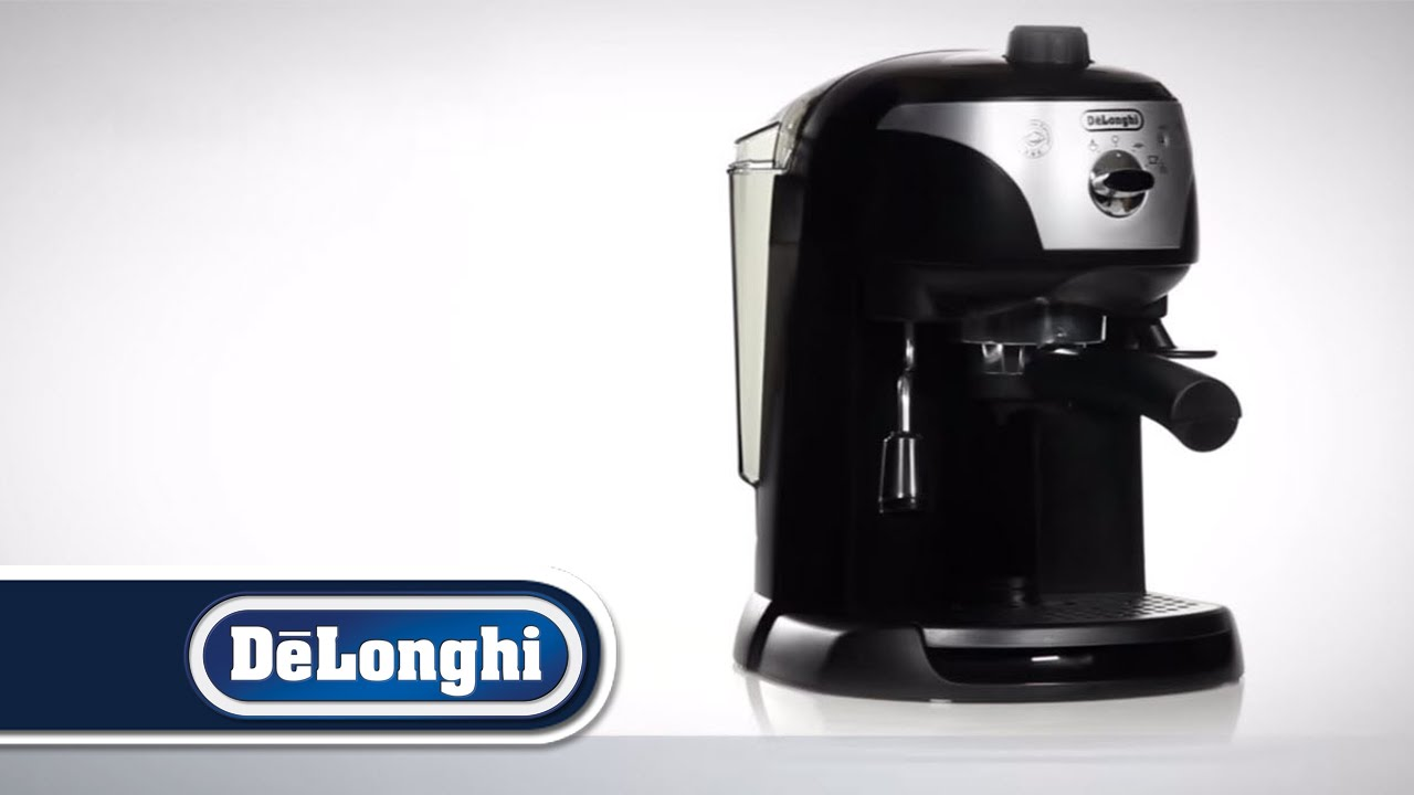 De Longhi Motivo Traditional Pump Espresso Coffee Machine Range - ECC220 - YouTube