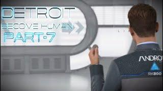Detroit: Become Human, прохождение, английская озвучка/русские субтитры, часть-7