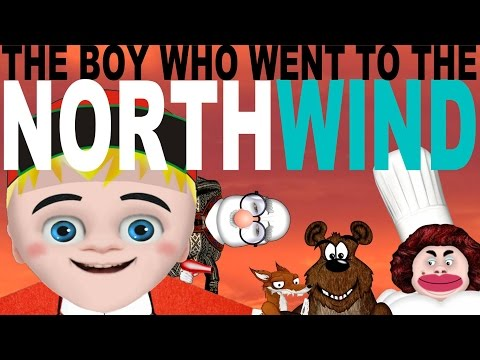The Boy who went to the North Wind - Animated Fairy Tales | Norwegian Folk Tales