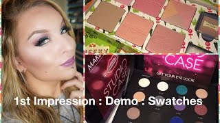 1st Impression : Demo : Make Up For Ever Studio Case & Benefit Cheeky Sweet Spot Thumbnail