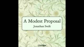 A Modest Proposal by Jonathan Swift (Free Audiobook in English Language)
