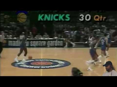 Bernard King (60pts-5asts) vs. Nets (1984) REACTION