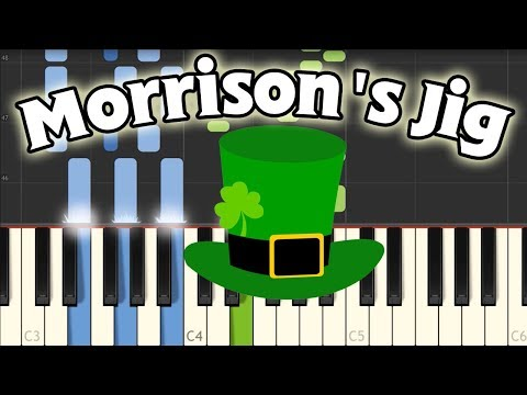 Morrison's Jig - Traditional Irish Rig [Piano Tutorial] (Synthesia)