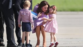 Princess Charlotte throws a tantrum in Germany