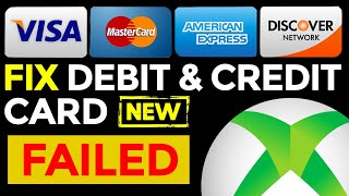 💳 Xbox One Billing Error   How To Fix Invalid Credit Card (2020)