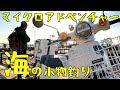 アニメのまちの人間が東京湾で釣りするぞ!有明西ふ頭公園