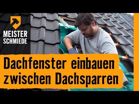 Dachfenster Einbauen: Zwischen Dachsparren | HORNBACH Meisterschmiede