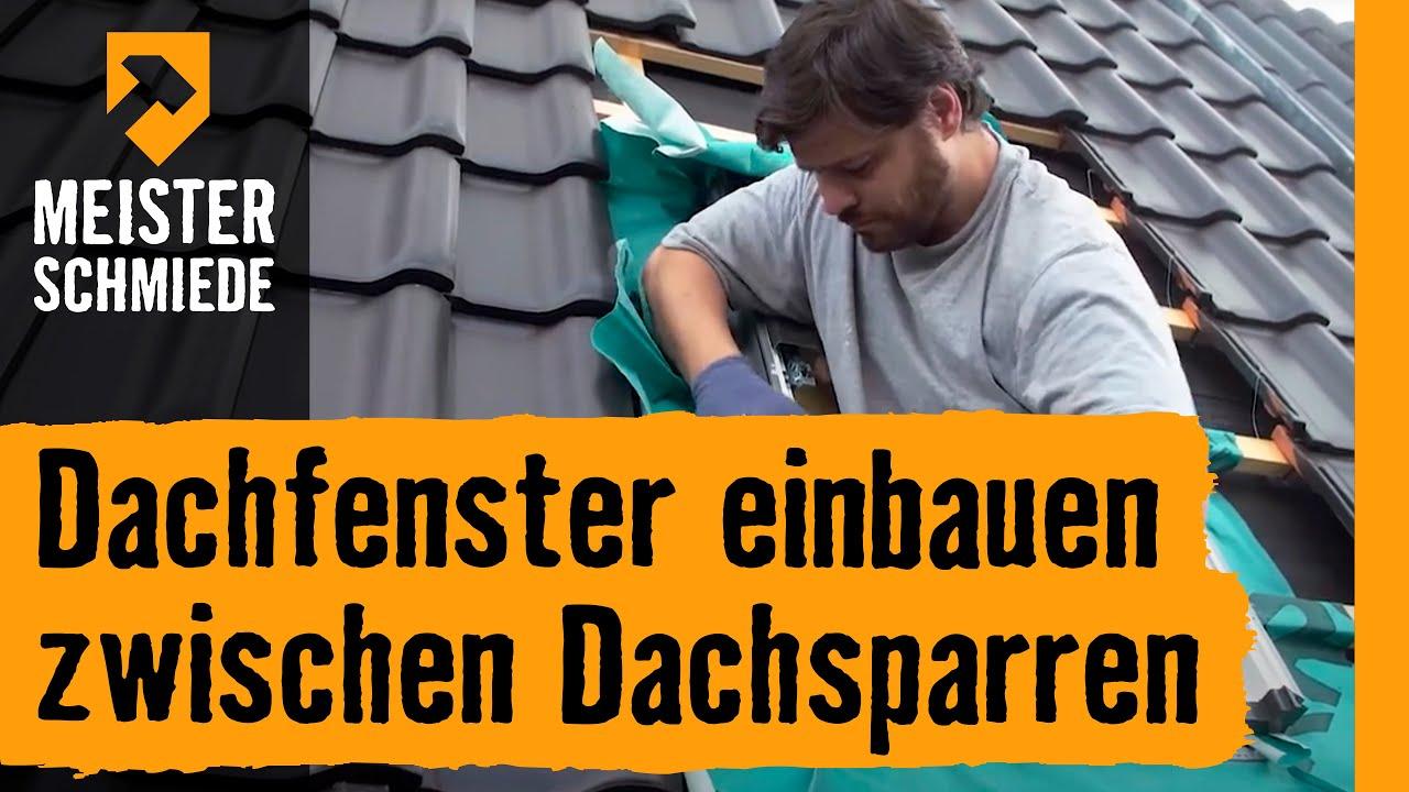 dachfenster einbauen: zwischen dachsparren | hornbach